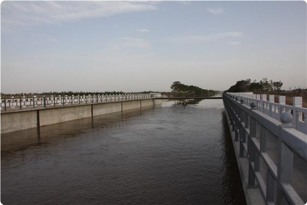宁夏生态示范区管线穿惠农渠渡槽工程渡槽