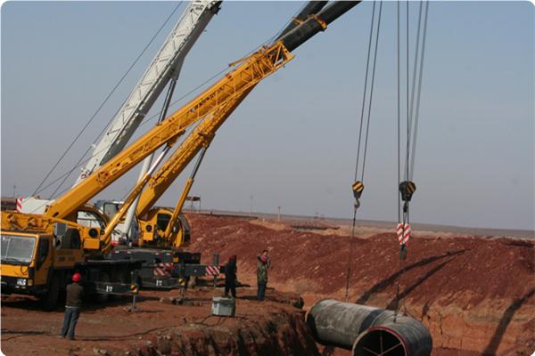 新疆准东供水管道VI-2标段