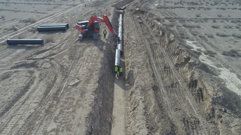 红寺堡区马渠生态移民区供水管道提升改造亚博电竞下载已全面竣工