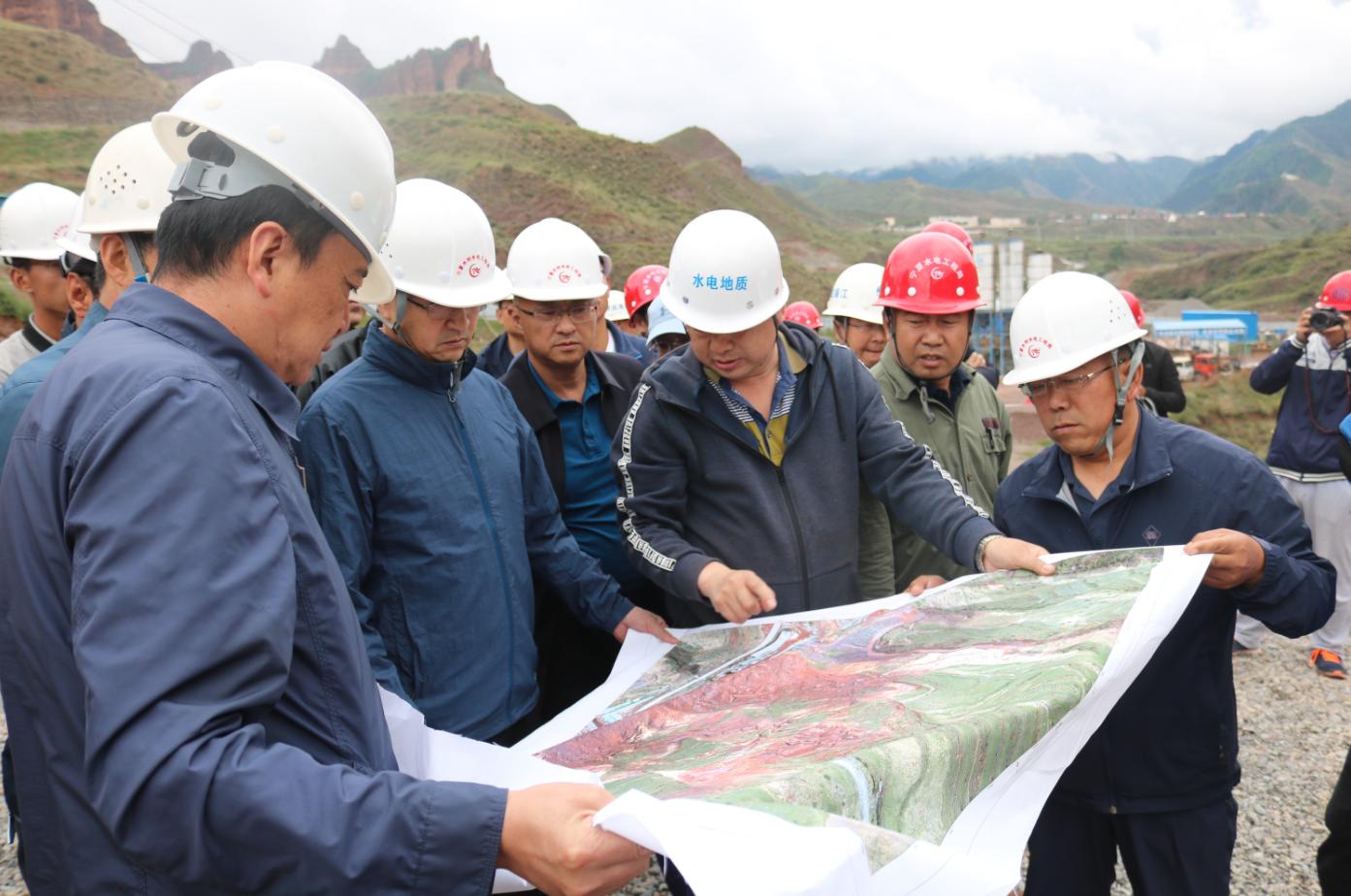 青海省水利厅厅长张世丰调研浪加水库建设项目