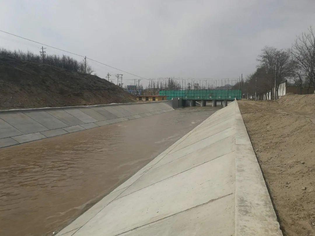 银川都市圈城乡供水东线首部取水工程顺利通水